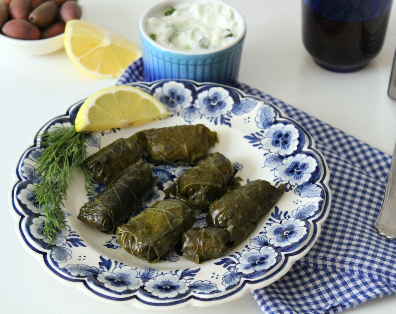 Yunan Usulü Zeytinyağlı Yaprak Sarması – Dolmadakia yalantzi
