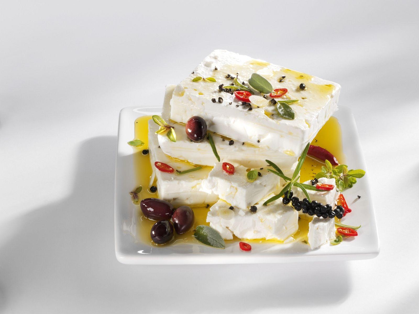 Zeytinyağında Marine Edilmiş Beyaz Peynir